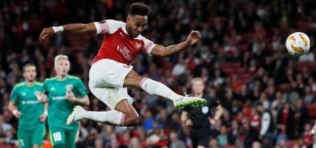 Aubameyang scoort ook bij Europa League-debuut voor Arsenal