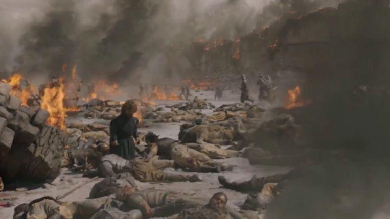 Soldaten vallen als vliegen.