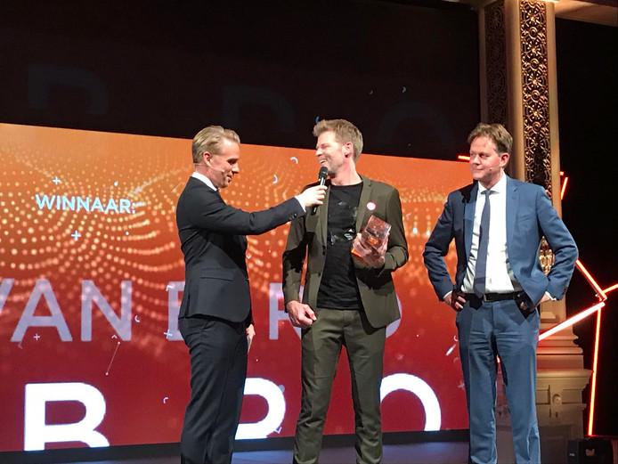 VanBerlo Design uit Eindhoven is dinsdagavond in het Scheveningse Kurhaus door AvroTros gekroond tot meest innovatieve bedrijf van Nederland.