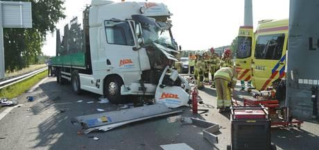 Files op A1 door ongelukken bij Deventer en Rijssen