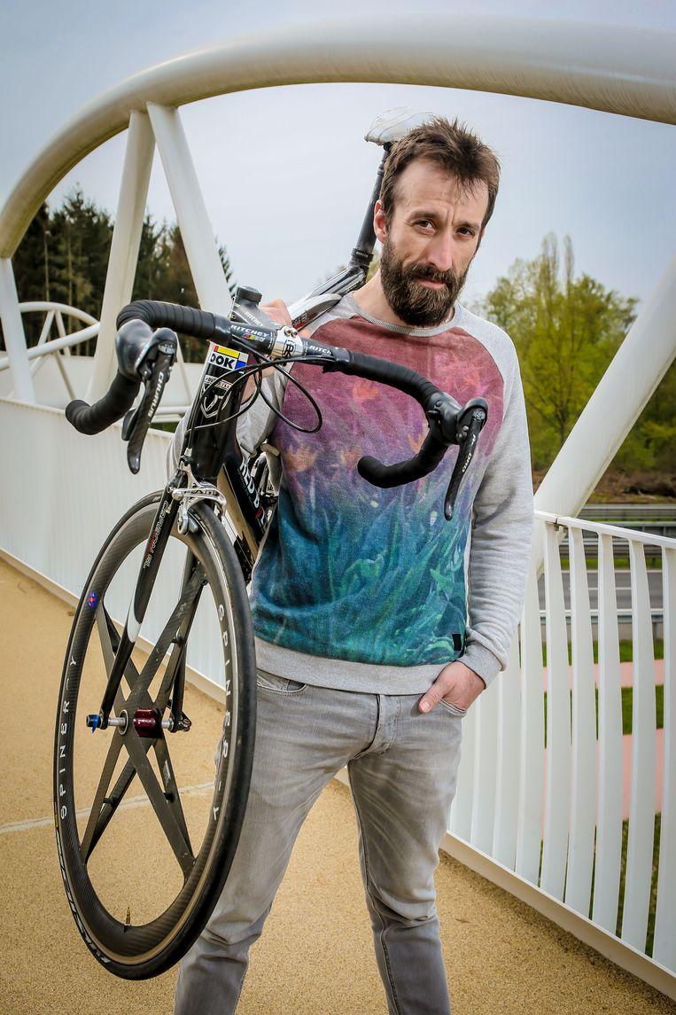 Regisseur Kenneth Mercken is een voormalig renner.