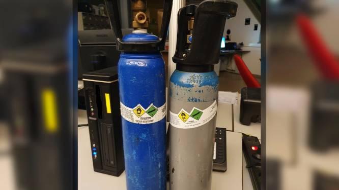 Twintigers krijgen boete voor gebruik van lachgas