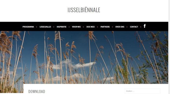 De site van de organisatie.