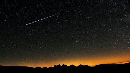 Vannacht kan je adembenemende meteorenregen zien en weerscondities lijken gunstig