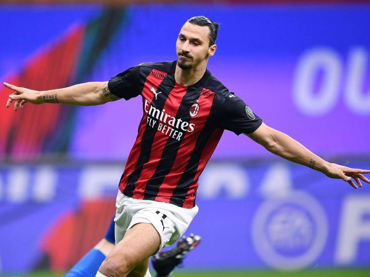 Ibrahimovic schittert ook in kraker tegen Roma