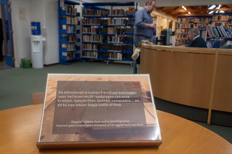 Leeshoek bibliotheek Melle