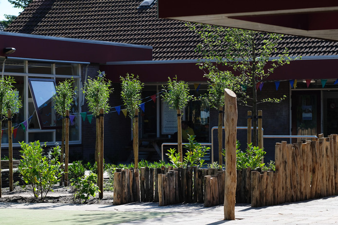 Basisschool De Groene Ring in Duiven. Foto Jan Ruland van den Brink.