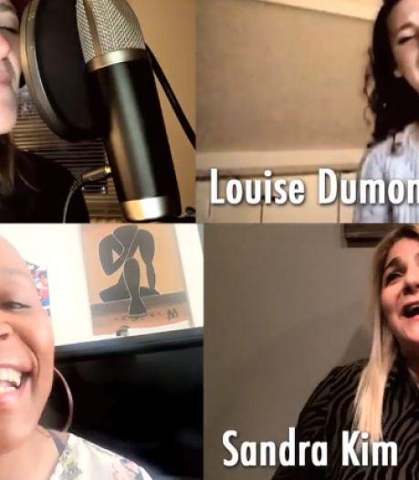 Les artistes belges apportent du courage en chanson