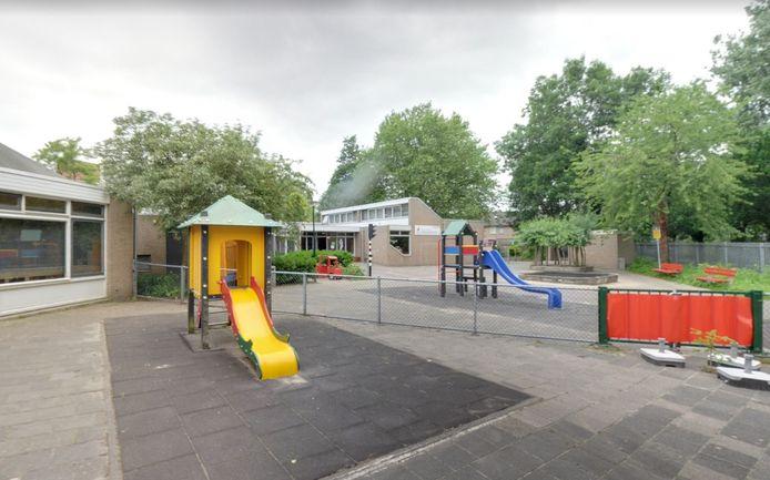 Het schoolplein van De Driemaster.