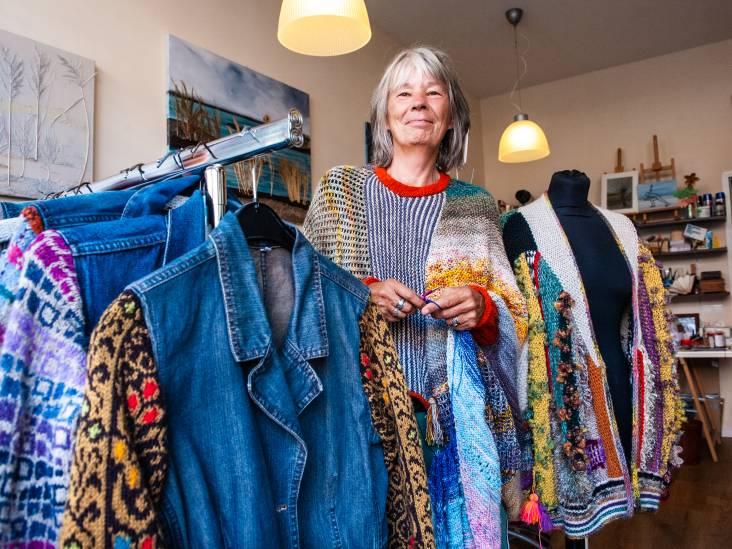 Het breien laat Winnie niet los: 'In een wolwinkel voel ik mij als een kind in een snoepwinkel'