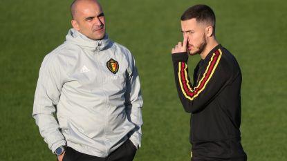 """Martínez wil blessure van Eden Hazard zelf kunnen evolueren: """"We kunnen alleen afwachten"""""""