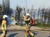 Brand in Hengelo, winkelcentrum Hasselo ontruimd