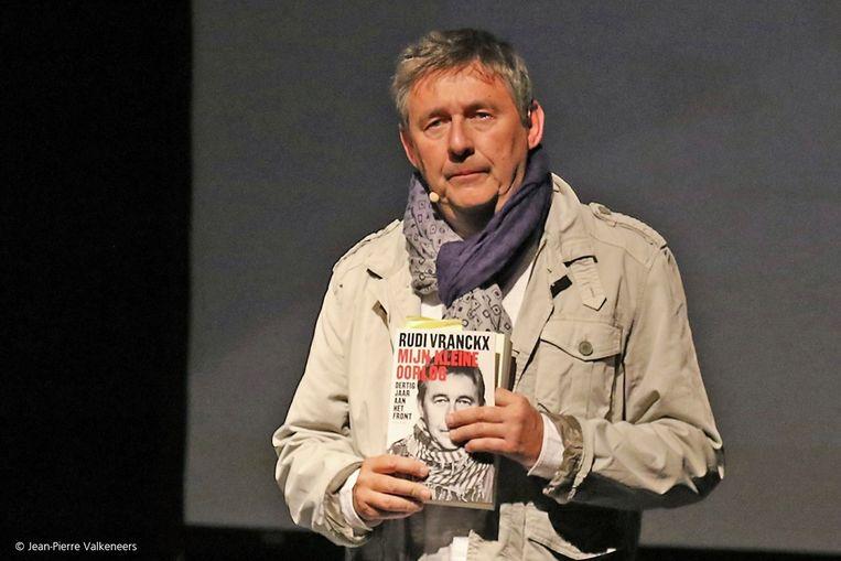 Vrijdag 4 oktober brengt Rudi Vranckx een relaas over zijn persoonlijke oorlogservaringen in het Arjaantheater.