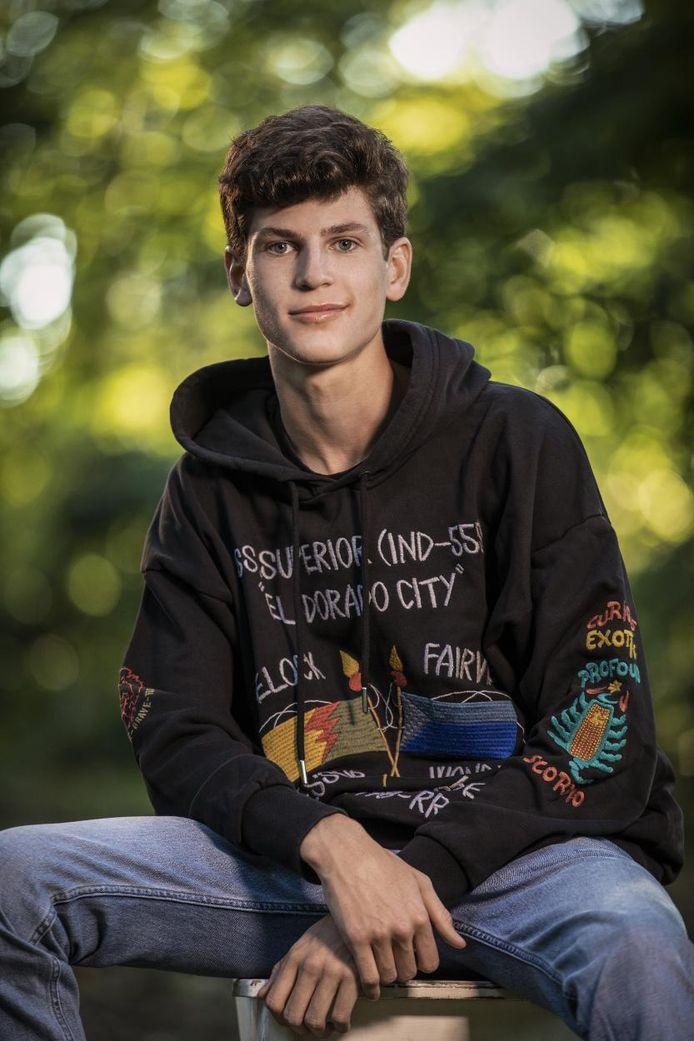 Len, de zoon van Günther Neefs.
