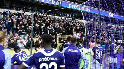 """Harde kern Anderlecht belooft: """"Geen vuurwerkpijlen op veld"""""""