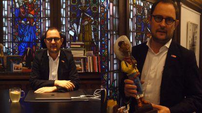 VIDEO. Binnenkijken in het kantoor van Kortrijks burgemeester Vincent Van Quickenborne