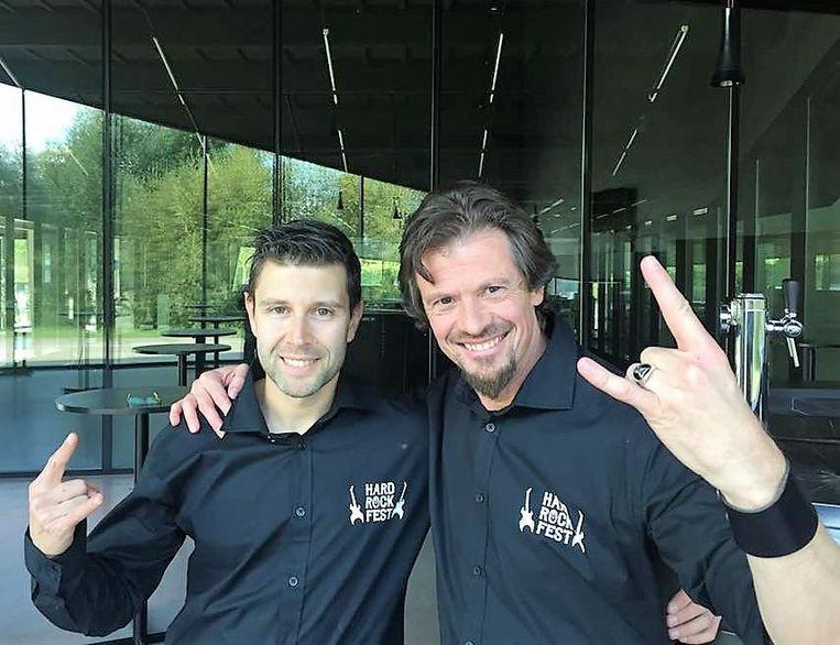 Organisatoren Dieter Van Hamme en Bernard De Riemacker.