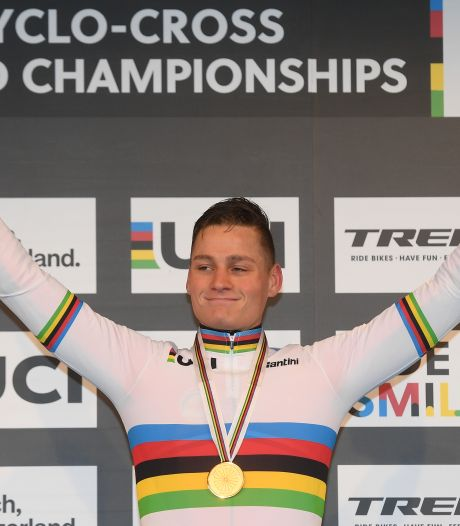 Van der Poel na 'perfecte race': Sloeg een grote kloof en kreeg vleugels