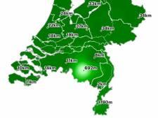 Waarom het in de regio Eindhoven nog mistig is, terwijl de rest van het land nergens last van heeft