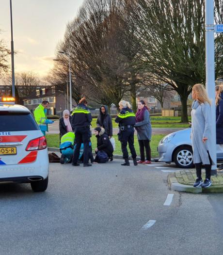 Weer fietser geschept op rotonde Holkerweg in Amersfoort