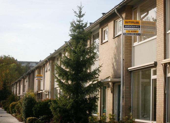Woning in Eindhoven nu per m2 duurder dan in dorpen.