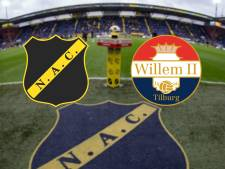 LIVE | NAC zet de toon in beladen duel met Willem II