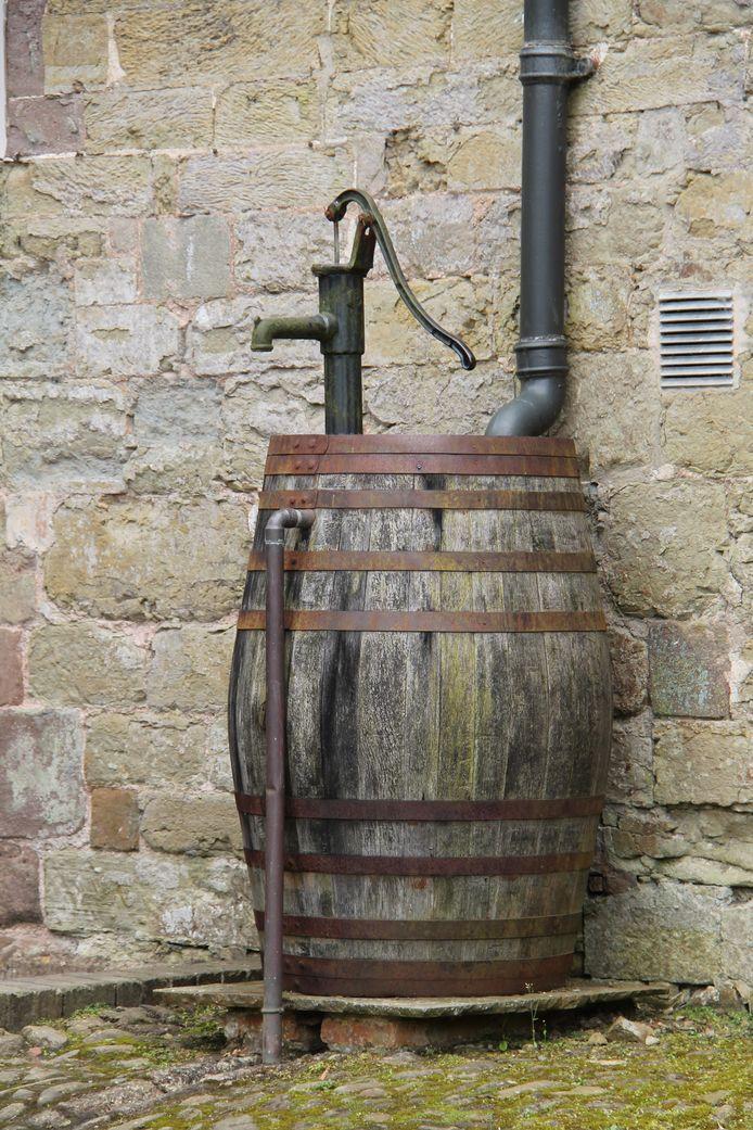 Rustiek: een wijnvat.