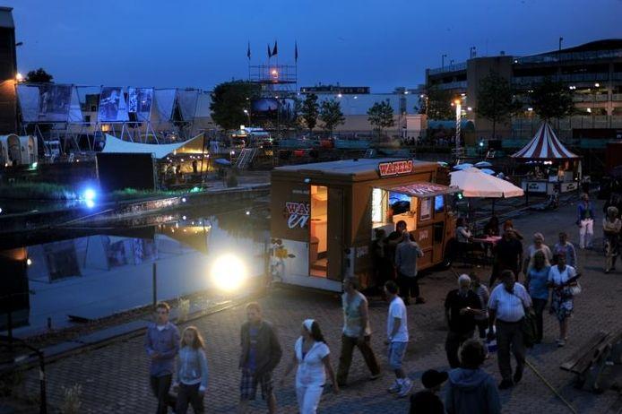 Het festival Onderstroom in Vlissingen. foto Lex de Meester