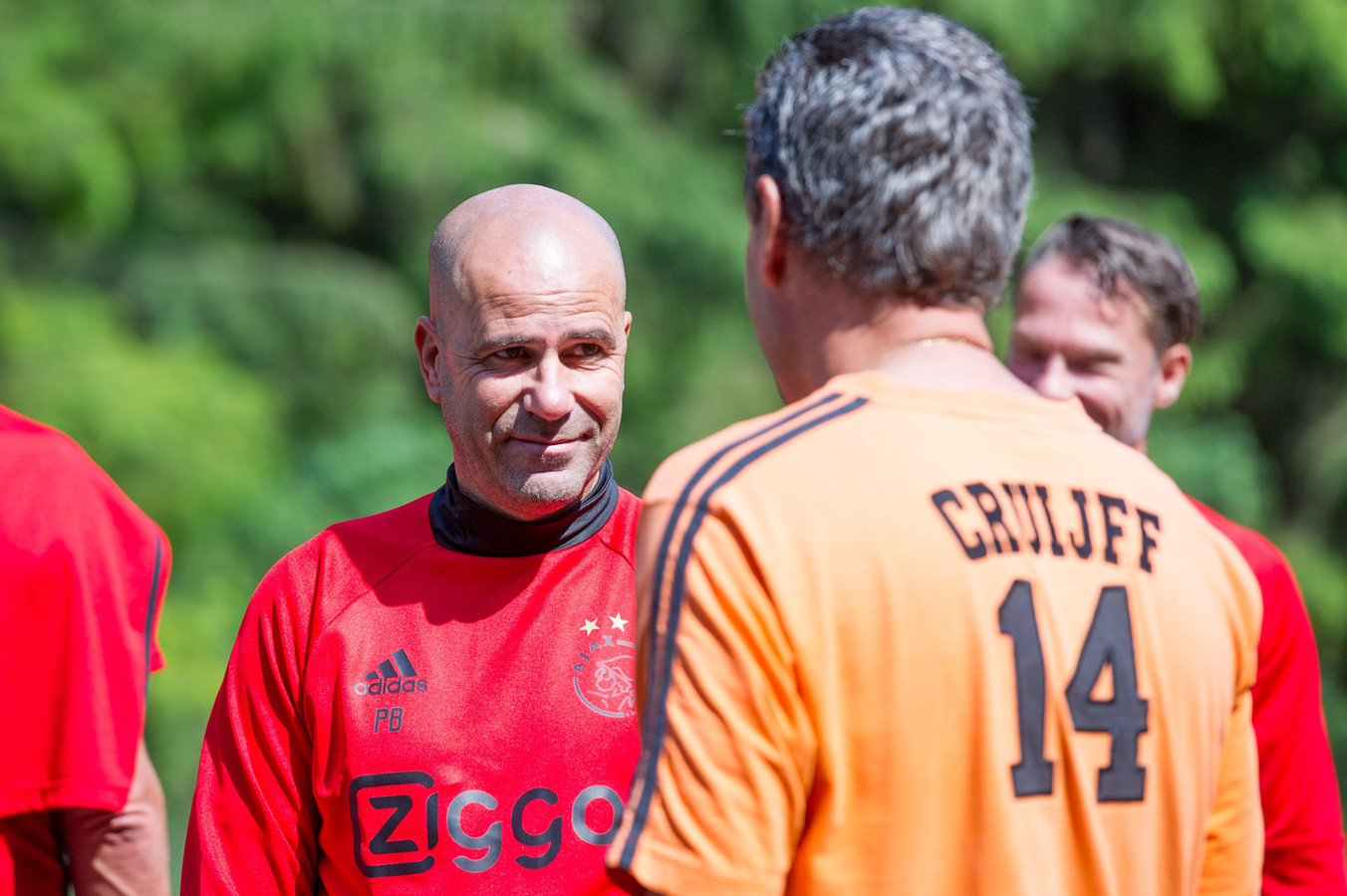 peter bosz with 67906800 on Andre Onana Ajax Latest Sweeper Keeper Extraodinaire further 67919011 moreover 2160288 Neres Dit Is Nog Maar Het Begin additionally 361424 Djt EF BC 9Apep Guardiolas Barcelona Tiki Taka433 Fm2017 as well 100754485.