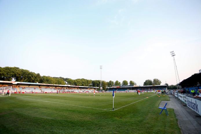 Het Jan Louwers Stadion van FC Eindhoven.