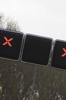 Botsing met meerdere auto's op A58 bij Oirschot, rijstroken weer vrij