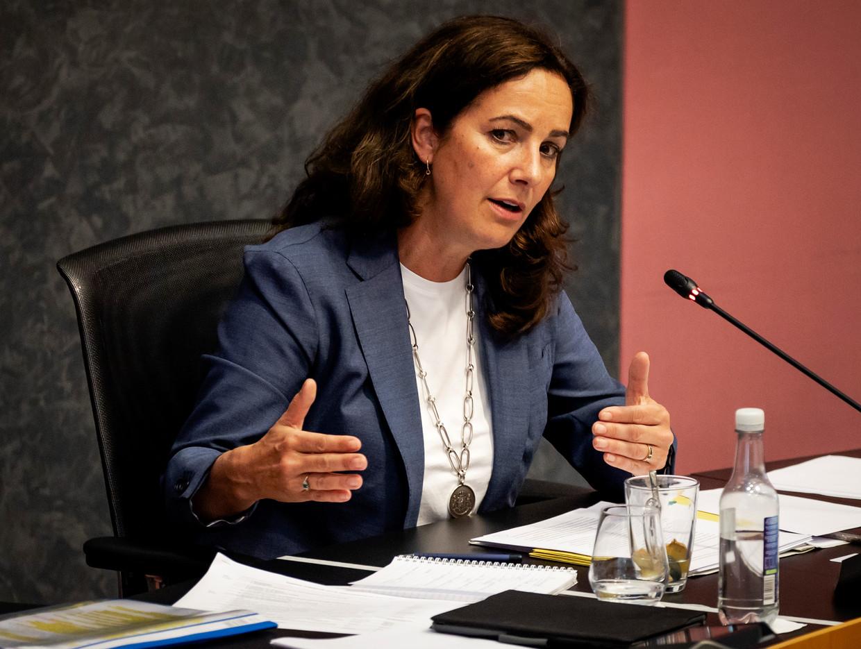 Burgemeester Femke Halsema onderschrijft de oproep. Beeld ANP