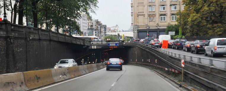 De Rogiertunnel is opnieuw in beide richtingen open.