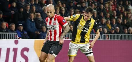PSV-linksback Angelino speelt met Jong Spanje gelijk tegen Jong Frankrijk