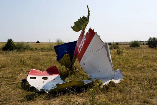 Resten van rampvlucht MH17
