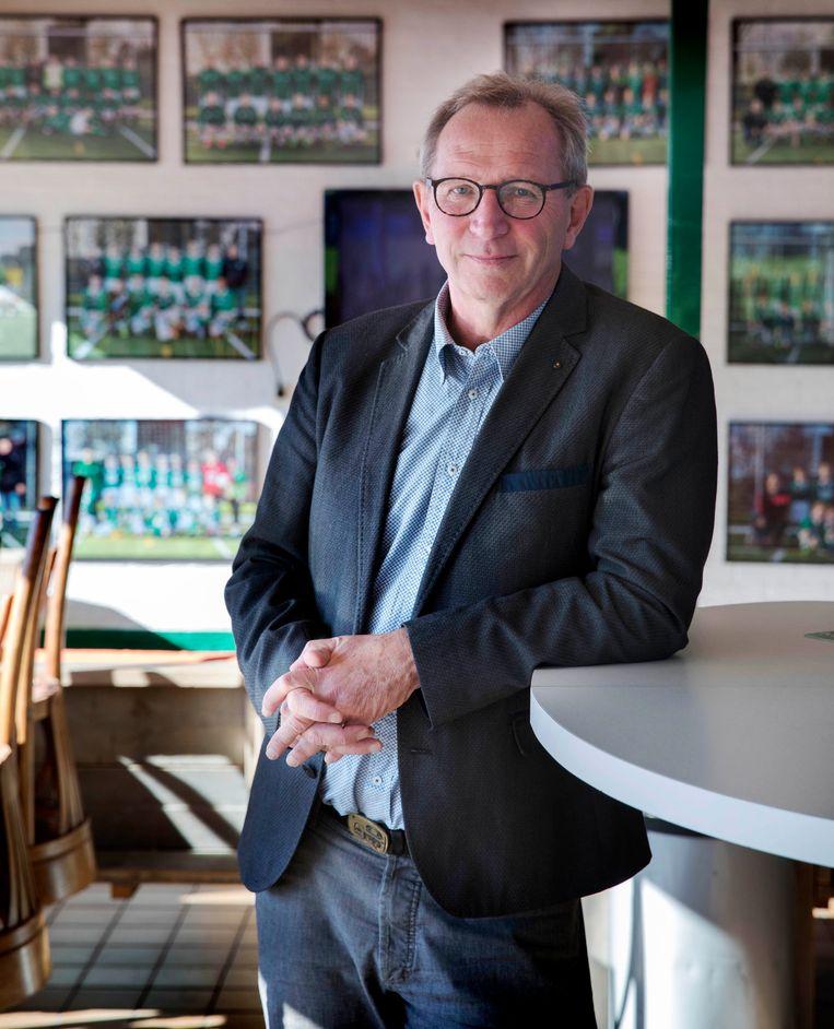 Jaap Peters, voorzitter vv Zwammerdam Beeld Werry Crone