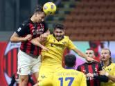 Zlatan redt Milan van nederlaag in blessuretijd