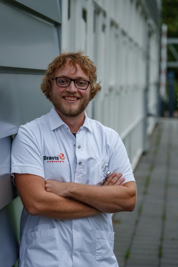 Wessel van Meer is de leider van het actiecomité in Bravis Ziekenhuis.