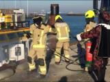 'Brand' op pakjesboot van Sint in Breskens