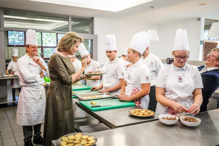 'Hoe heb je deze koekjes gemaakt?', vraagt de koningin zich af.