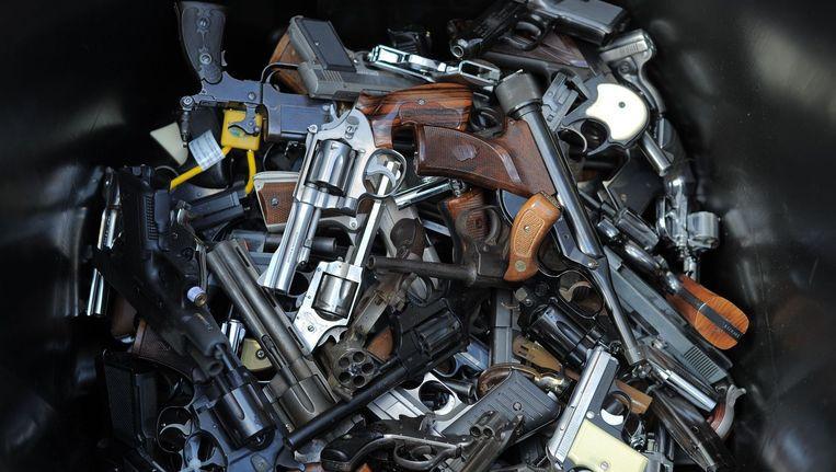 93 wapens werden vrijwillig afgestaan