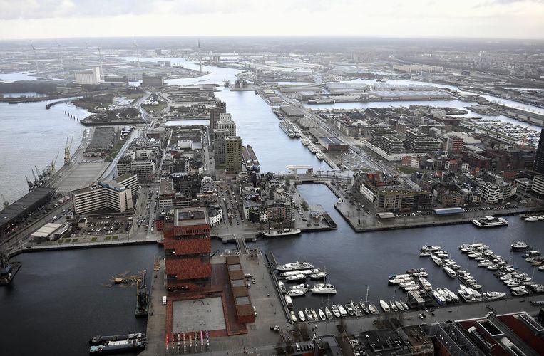 Het Eilandje in Antwerpen is volgens The Independent een van de hipste wijken in Europa.