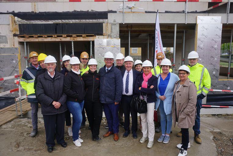 Sociale huisvestingsmaatschappij WoonWel stelt haar nieuwbouwproject op de site Bootsman Jonsen voor