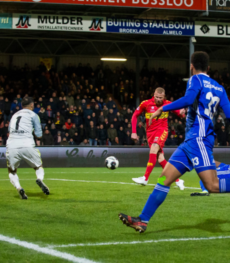 Verheydt helpt Go Ahead koud in het veld aan winst op Almere City