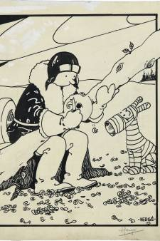 Ce dessin de Tintin a été vendu plus d'un million de dollars à Dallas