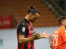 """Ibrahimovic positif au Covid-19: """"Le virus a le courage de me défier. Mauvaise idée"""""""