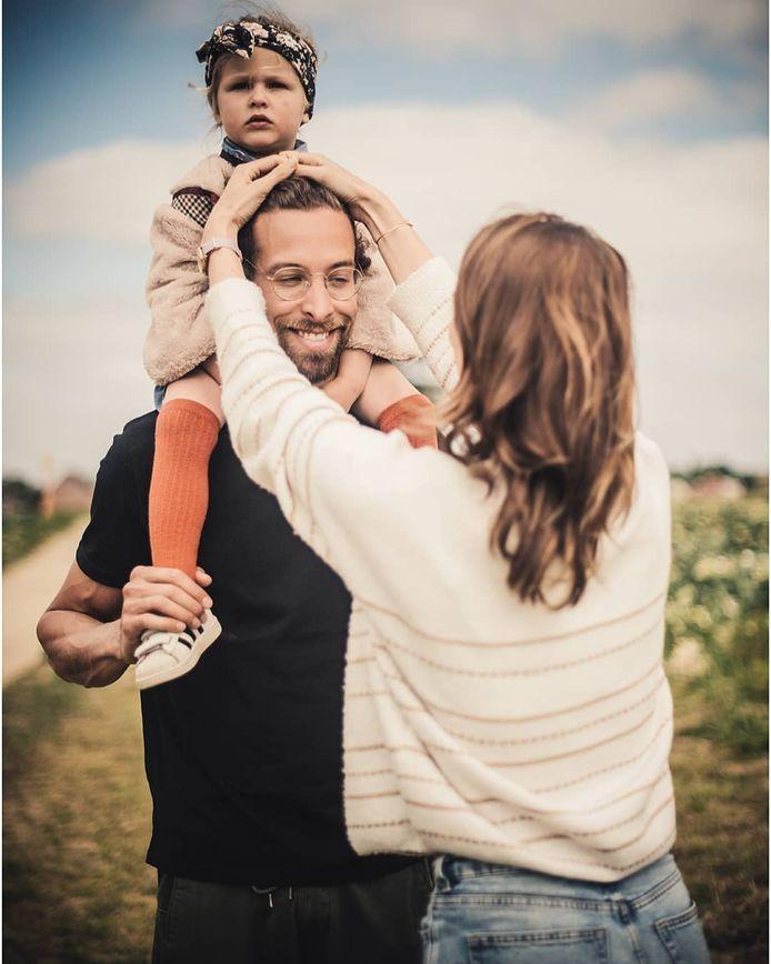 Pieter Timmers, Elle De Leeuw en hun dochter Jutta