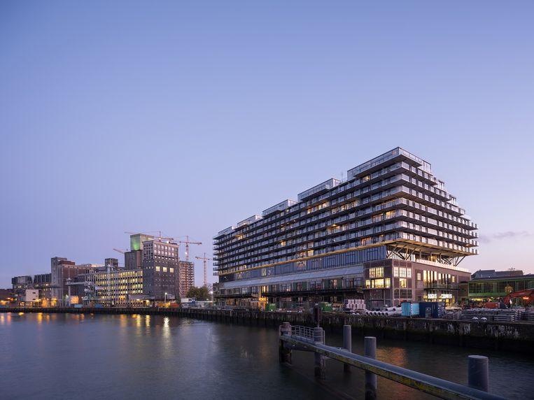 Fenix 1, Rotterdam. Architect: Mei architects and planners. Opdrachtgever: Heijmans Vastgoed. Beeld Ossip van Duivenbode