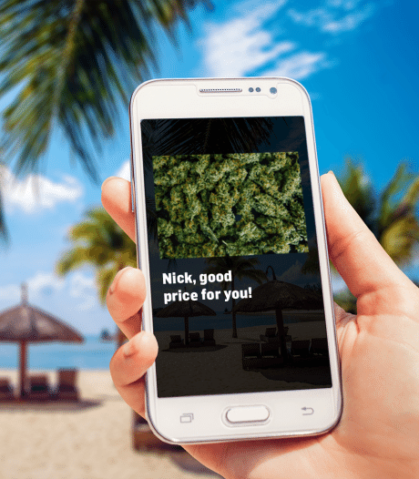 Zaanse agent tipt politie Florida na berichtje over drugsdeal