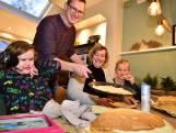 Vader bakt 3000 pannenkoeken voor zijn dochtertje